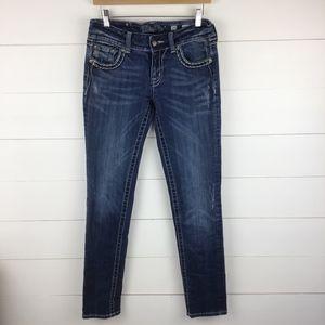 Miss Me 29 Skinny Jeans Medium Wash JE544052L Flap